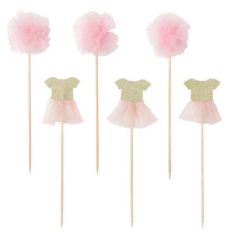 We ♥ Pink Cake Toppers