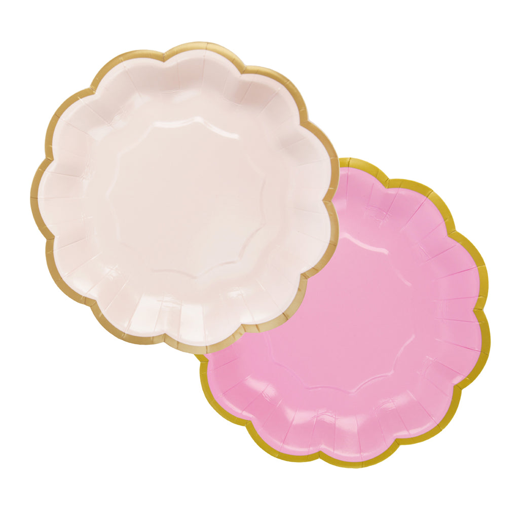 We Heart Pink Plates