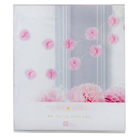 We ♥ Pink Tulle Garland