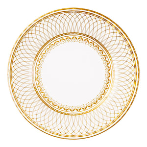 Image - Party Porcelain Gold Large Plate