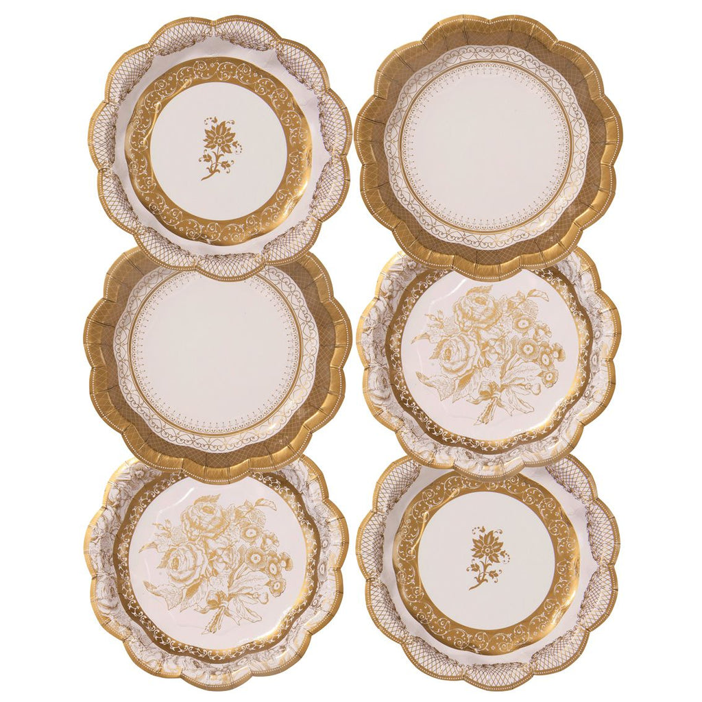Party Porcelain Plates Small