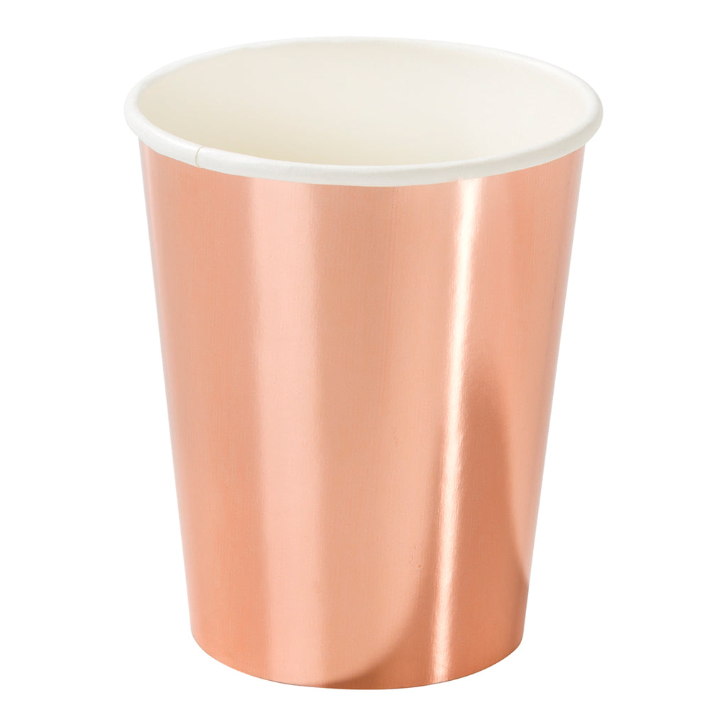 Party Porcelain Rose Gold Cup