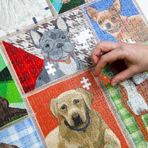 Pick Me Up Jigsaw Puzzle Dog Breeds 1000 Pieces