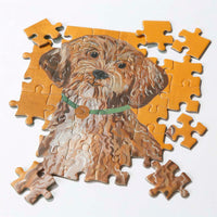 Double Sided Cockapoo Jigsaw Puzzle 100 Pieces