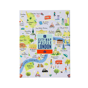 Map Jigsaw Puzzle London 250 pieces