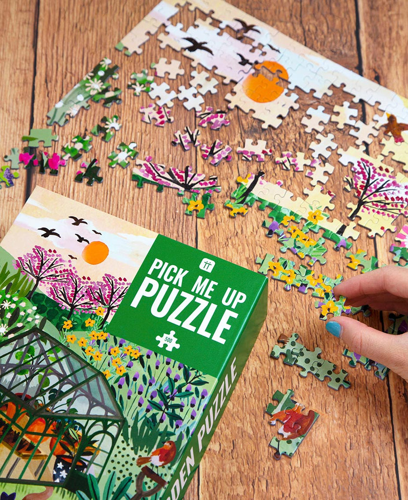 Puzzle Pick Me Up Gardening 500 Pieces