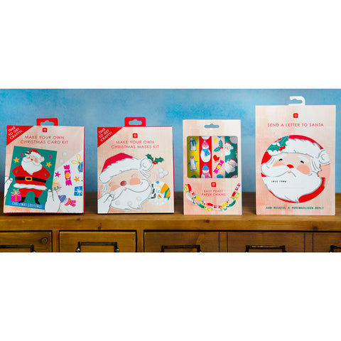 Craft With Santa Card Kit