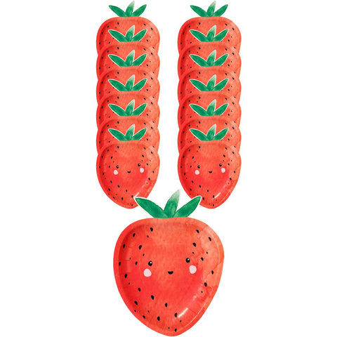 Strawberry Fields Strawberry Shaped Plates