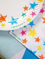 Birthday Brights Rainbow Star Napkins