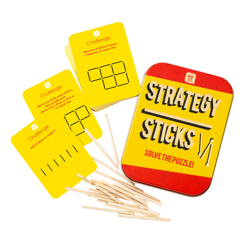 Strategy Sticks In a Tin