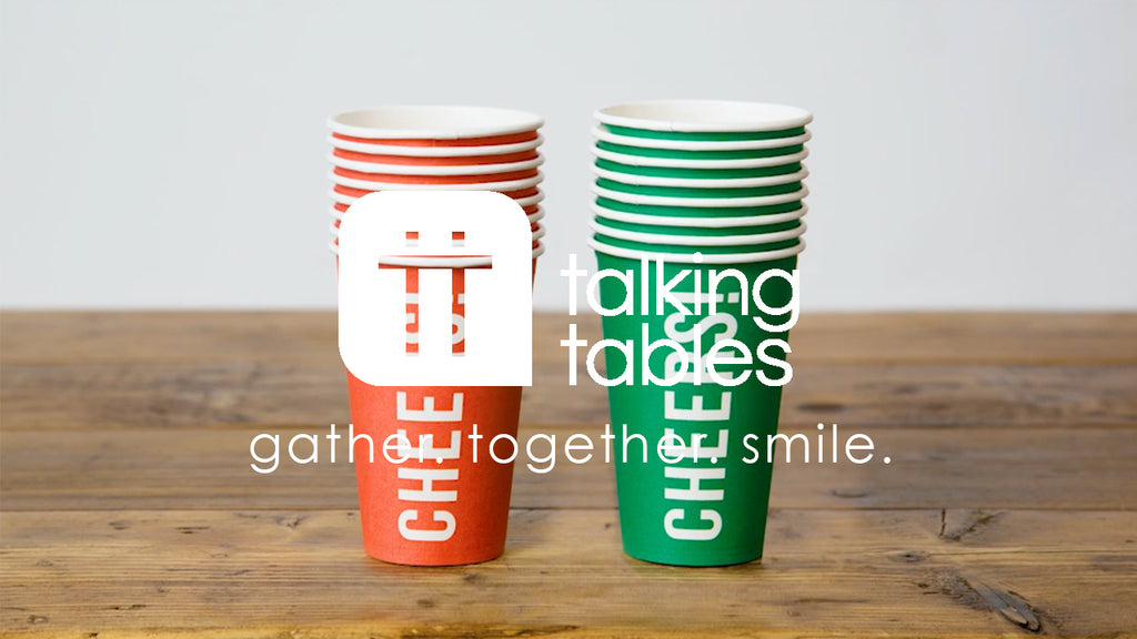 Talking Eco Large 'Cheers' Cups
