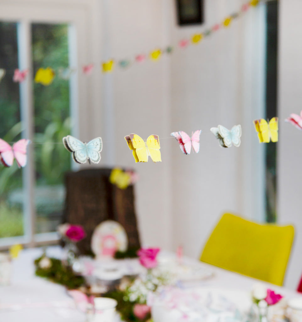 Truly Fairy Mini Paper Butterfly Bunting