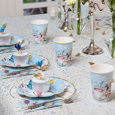 Truly Alice Blue Cups