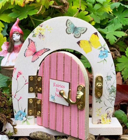 Wooden Fairy Door - Talking Tables