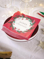 Botanical Berry Napkin
