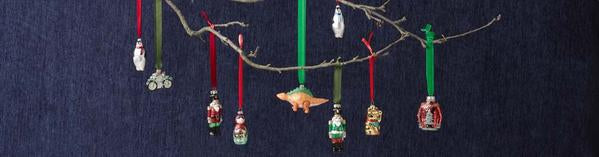 Lucky Cat Glass Tree Decoration
