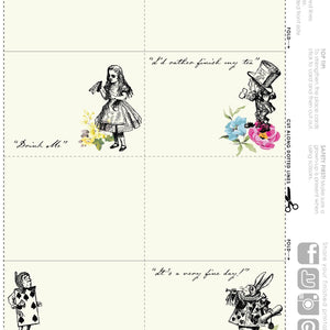 Printable - Truly Alice Printables