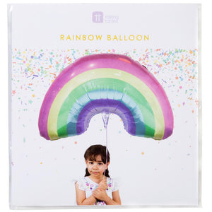 We ♥ Unicorns Rainbow Balloon