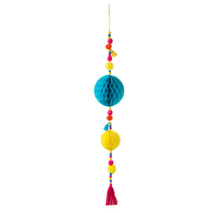 Boho Pom Pom Tassel Decoration