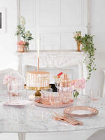 Party Porcelain Rose Gold Ice Fountain