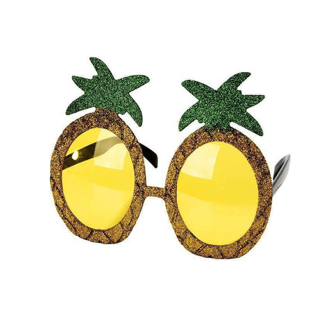Tropical Fiesta Gold Sunglasses