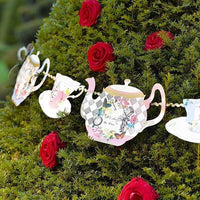 Truly Alice Teapot Bunting