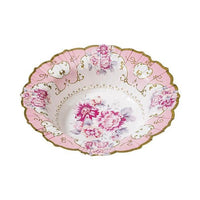 Truly Scrumptious Floral Paper Bowls