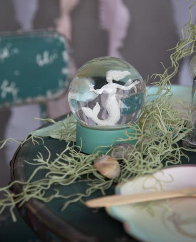 We Heart Mermaids Snow Globe