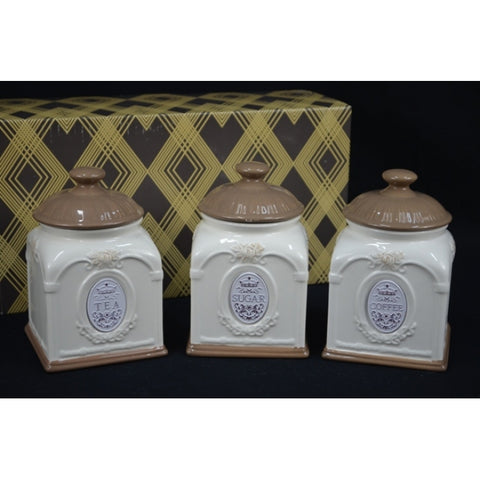 SET OF 3 CANISTER SET