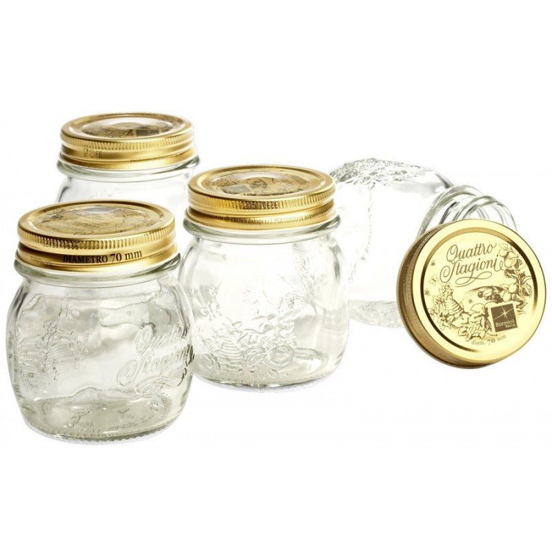 Quattro Pres/Storage  Jar 250ML