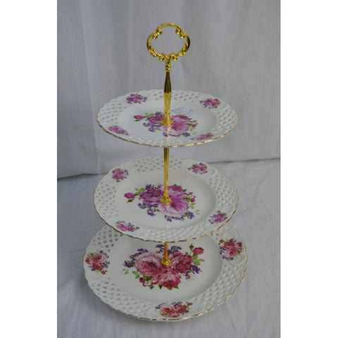 THREE TIER PLATE