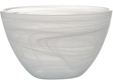 CASA DOMANI Cirrus Glass Salad Bowl 23×13.5cm