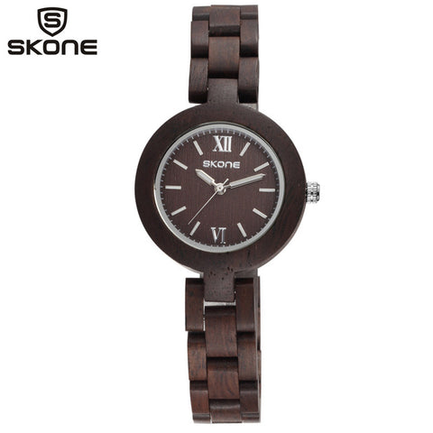 SKONE Wood Women's Watch