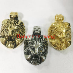Image of Perfect Technology Handsome Boy 316L Stainless Steel Silver Black Gold Lion