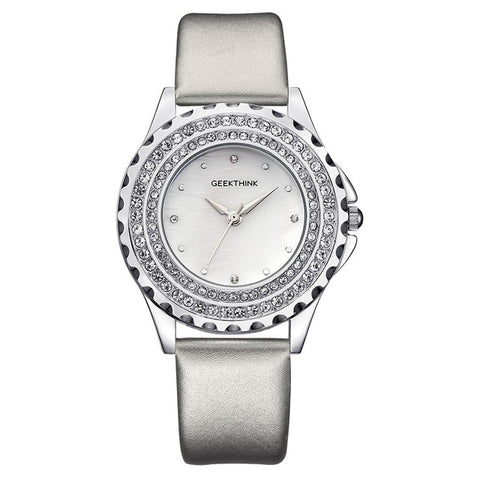 Luxury Women's Quartz Diamond Watch