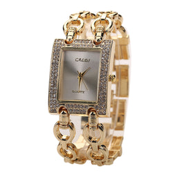 Women Woven Bracelet Watch