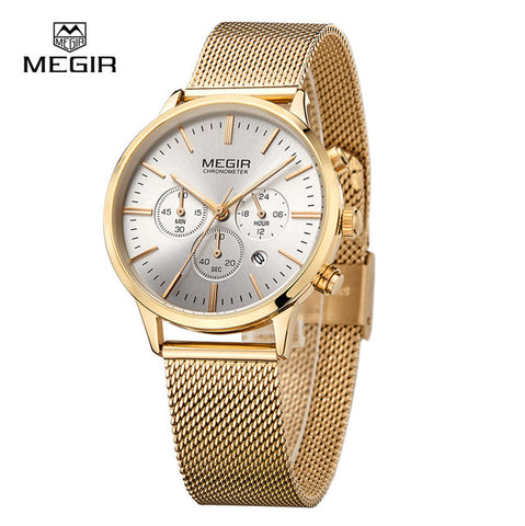 MEGIR Fashion Casual Women Quartz Watch