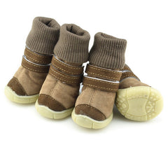 Pets Dog Cat Winter Shoes Comfortable