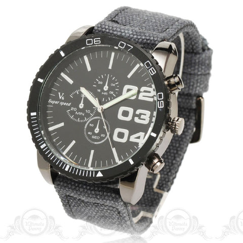 V6 New Fashion Men Big Size Thin Steel