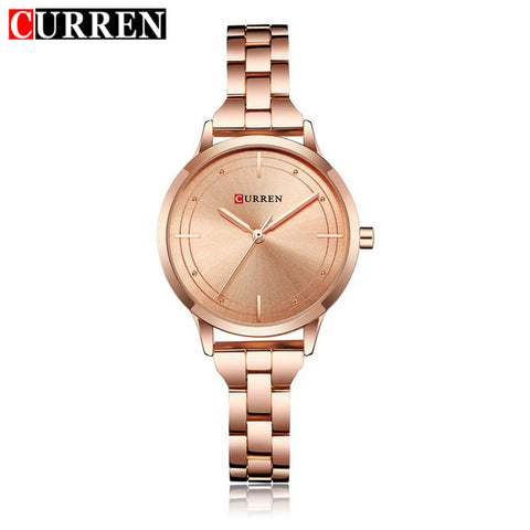 CURREN Gold Women Watch