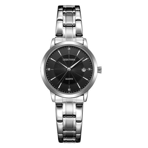 GEEKTHINK Black Women's Quartz Watch