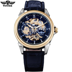 WINNER Men Fashion Skeleton Watches