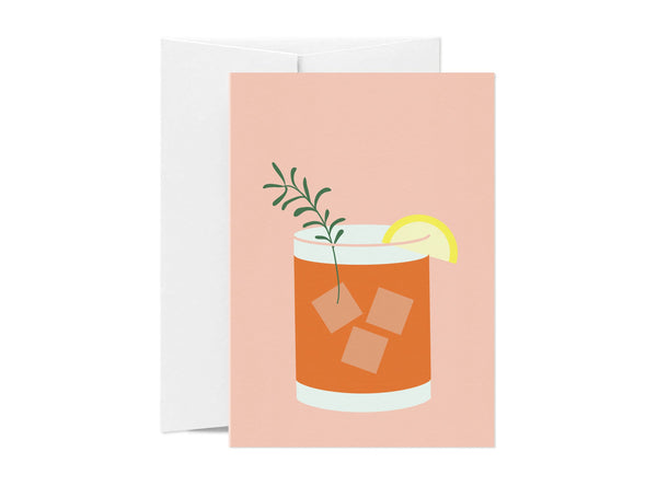 Grapefruit Rosemary Cocktail