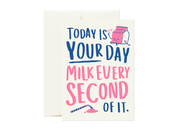 Milk Every Second