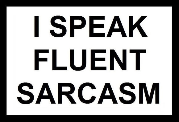 I Speak Fluent Sarcasm SayIt