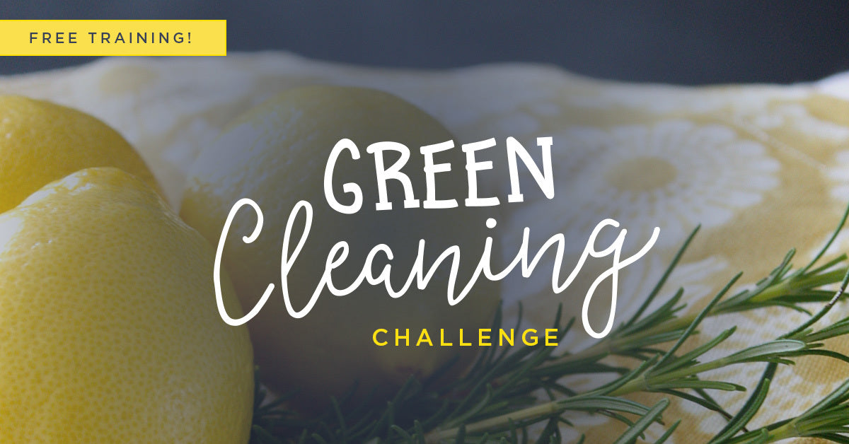 5 Day Green Cleaning Challenge