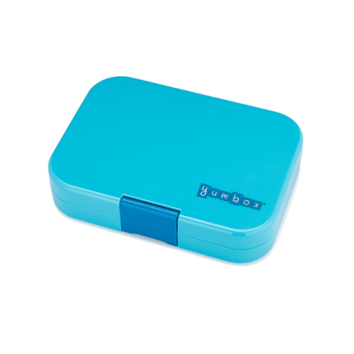 Yumbox Leakproof Lunchbox Panino Blue Fish Closed