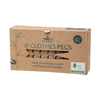 Go Bamboo Biodegradable Clothes Pegs (Box of 20)