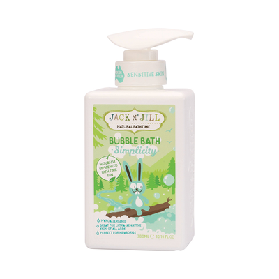 Jack n' Jill Natural Bubble Bath - Simplicity