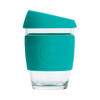 Joco Reusable Glass Coffee Cup Mint